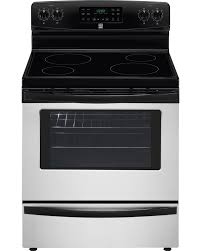 kenmore convection oven. kenmore 94053 5.4 cu. ft. electric range w/ convection oven - stainless steel