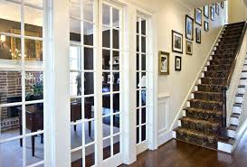 interior glass french doors door with sidelights panel internal great frosted