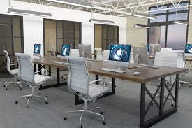 office industrial design. Rustic Office, Industrial Modern Industrial, Collaborative Space, Commercial Furniture, Design, Office Spaces, Design T