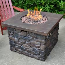 yosemite stone propane fire pit table propane fire pit s23