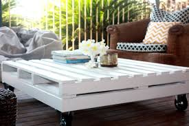 diy white pallet coffee table diy pallet how to reuse wooden pallet to create stunning