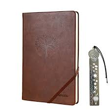 journal note book wertioo leather diary hardcover clic writing notebook a5 dotted pages thick paper