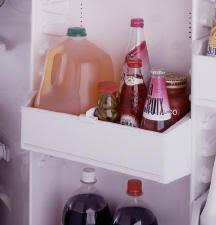 """ge profileâ""""¢ 19 0 cu ft top mount no frost refrigerator 5 modular gallon door bins 4 adjustable"""