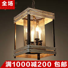 get ations kawasaki and american country restaurant wooden chandelier vintage industrial style loft iron to do the old