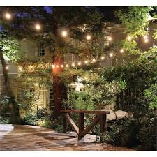 Feit Outdoor Weatherproof String Light Set White Pin On Outside Patio Garden Deck Ideas