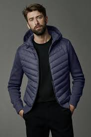 ... Men s HyBridge Quilted Knit Hoody   Canada Goose ...