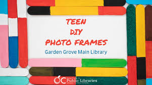 wednesday 5 8 at 3pm garden grove main library for grades 7 12 714 530 0711 gardengrove craft twitter f5xltkwy9o