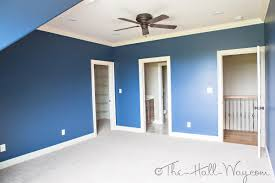 colors styles and other design decisions the hall way rear bedroom