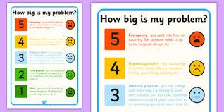 How Big Is My Problem Chart How Big Is My Problem Colour Code Colour Code Problem Big