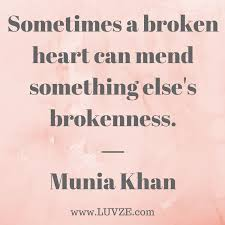Quotes About Being Broken Hearted Magnificent 48 Broken Heart Quotes And Heartbreak Messages Sayings
