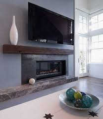 Contemporary Fireplace Ideas Mantel | ... . Modern Beach House Living Room Fireplace  Mantle Decorating Ideas | Home In 2018 | Pinterest | Fireplace Design, ...
