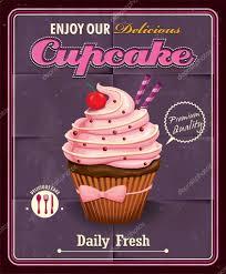Cupcake Poster Design Vintage Cupcake Poster Design Stock Vector Donnay 53009979