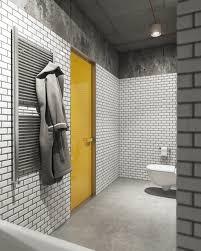 General: White Tile Bathroom - Whimsical Art Design