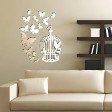 mirrored butterflies wall decals pulchritude birdcage wall decor ideas for  latter butterflies draft wall decals