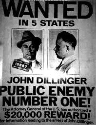 「John Dillinger in boyhood」の画像検索結果
