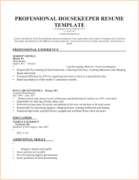 Sample Supervisor Resume Simple Hospital Housekeeping Supervisor Resume Sample On Fresh 19