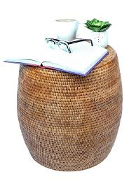 rattan coffee tables table round rattan coffee table with glass top outdoor mini stools with regard to beautiful wicker