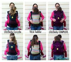 Lillebaby Carryon Vs Tula Toddler Vs Lillebaby Complete