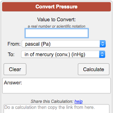 Pressure Conversion Calculator
