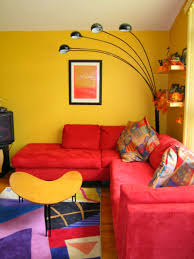 Red Sofa Living Room Decor Living Room Fantastic Living Room Decorating Ideas Yellow Wall