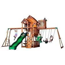 outdoor playset plans outdoor swing plans kids slide gym yard activities heavy duty wooden backyard playset outdoor playset plans
