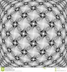Design Monochrome Warped Grid Decorative Pattern Stock