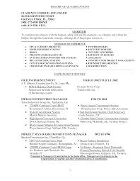 Sample Resume Qualifications Resume Examples Skills And Qualifications Emberskyme 13