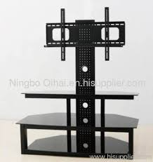 tv table stand. elegant oval revolving lcd tv stand table with bracket