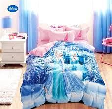snowflake comforter set frozen printed comforter bedding sets for girls bedroom with regard to frozen comforter