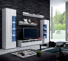 Wall Units Furniture Living Room Tv Wall Unit Roma Free Led Tv Stand Living Room Furniture