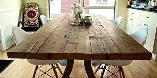 barnwood kitchen table diy