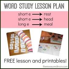 Spelling Ea Words A Free Lesson With Printables The