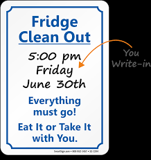 refrigerator clipart png. clipart clean out refrigerator - clipartfest png