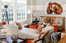 burnt orange furniture living room contemporary with white day bed white chaise lounge burnt orange furniture