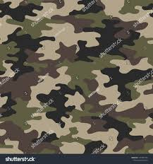 Army Camo Design Full Seamless Army Camouflage Pattern Vector Royalty Free