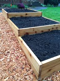 garden beds. terraced raised garden bed beds c
