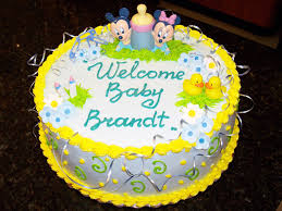 Baby Shower Cakes Boys Page 1Baby Mickey Baby Shower Cakes