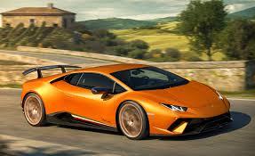 2018 Lamborghini Huracan Performante: A Four-Wheel-Drive Aerodynamic  All-Timer Car And Driver