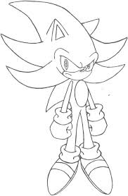 super sonic coloring pages super sonic coloring pages super sonic and super shadow and super silver
