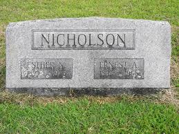 Ernest Aron Nicholson (1897 - 1966) - Genealogy
