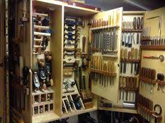 hand tool storage. wall tool cabinet - by bluekingfisher @ lumberjocks.com ~ woodworking community hand storage