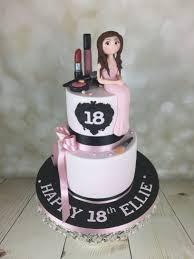 18th birthday cake ideas makeup