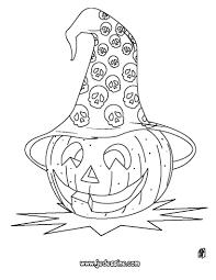 Coloriage Halloween Sorci Re Citrouille Goshowmeenergy