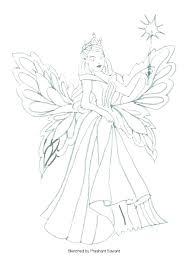 Fairy Printable Coloring Pages Fairy Coloring Pages For Adults Evil