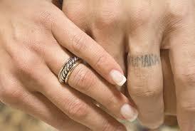 Sweet Scripture Tattoo Design On Ring Finger Tattoomagz Tattoo