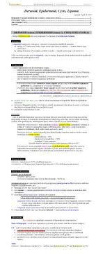 dermoid epidermoid cysts lipoma