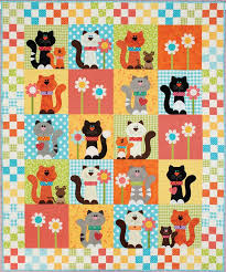 Best 25+ Quilts for kids ideas on Pinterest | Bandana blanket ... & HappyQuilts Kitty 10 Happy Quilts for Kids Adamdwight.com