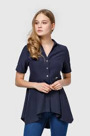 <b>Блузка Helmidge</b>, темно-синий 54 размер — купить в интернет ...