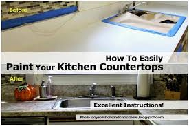 Can I Paint Countertops Can Paint Kitchen Countertops 2017 Including How To Easily Your