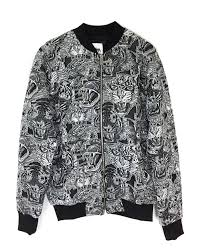 Zara Men S Coat Size Chart Zara Men Tiger Jacquard Bomber Jacket 4087 411 At Amazon